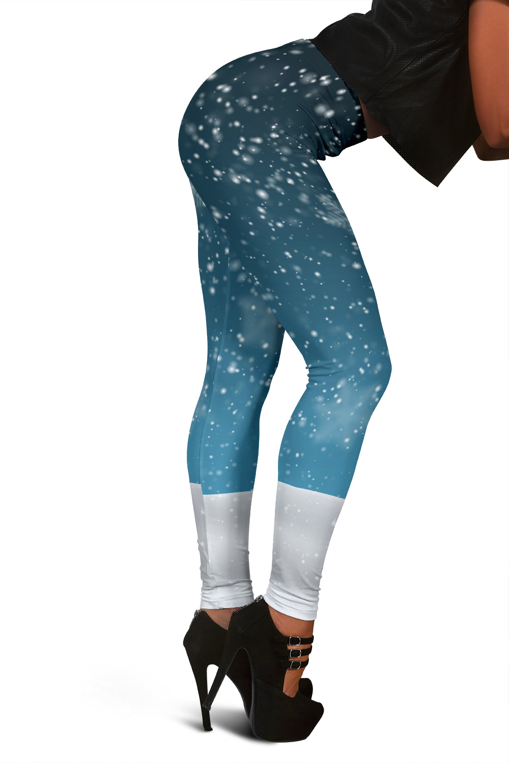 Snow Christmas Leggings For Women