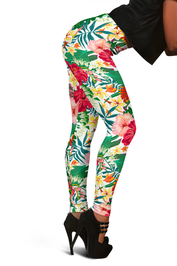 Flower Leggings For Women Who Want To Look Beautiful