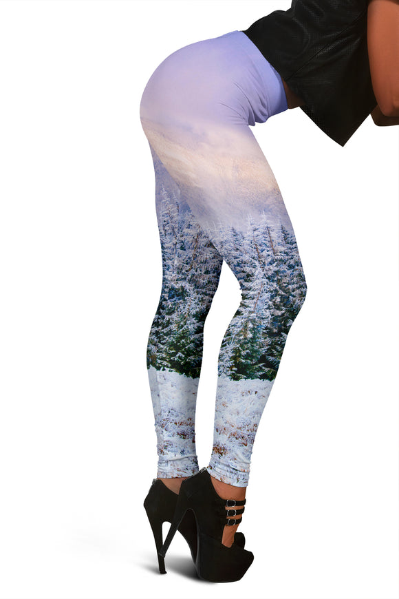 Christmas Leggings For Women Who Love Mother Nature