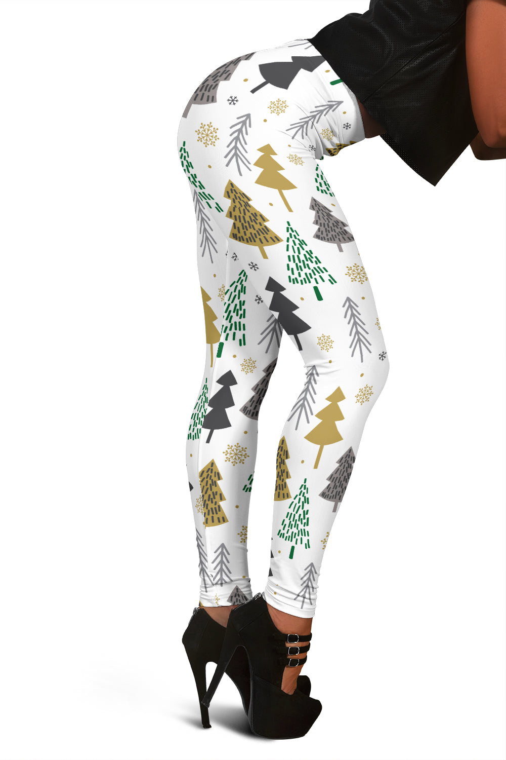 Christmas Tree Leggings For Women Who Love The Christmas Spirit