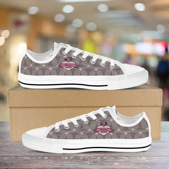 Lady's Coco Texas Nurse Canvas Low Tops