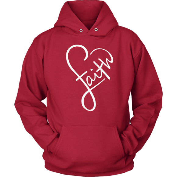 Faith In A Heart Hoodie