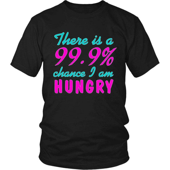 There Is A 99% Chance I Am Hungry
