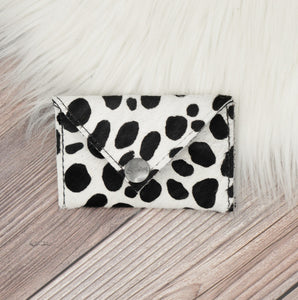 Cow Hide Envelope Wallet