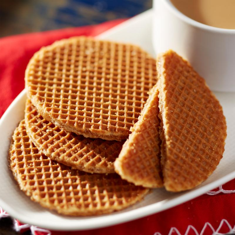 Finger Licking Dutch Caramel Stroopwafels + Tin