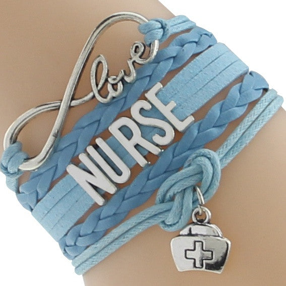 Nurse Wrap Bracelet Free + Shipping