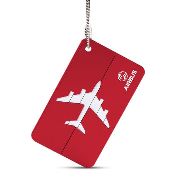 High Quality Durable Travel Suitcase Information Tag