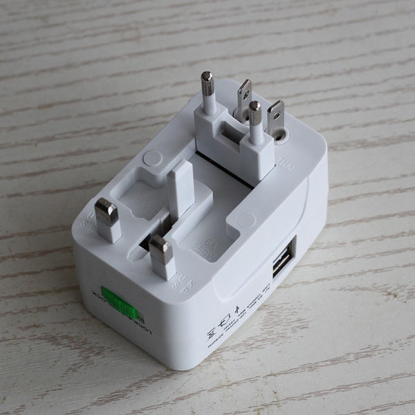 World Travel Plug With USB