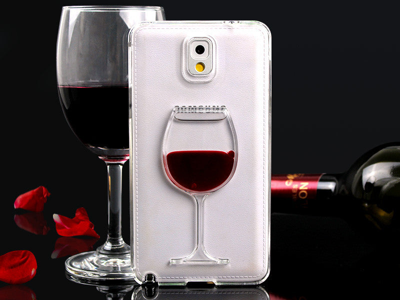 Samsung Galaxy Red Wine Case Free + Shipping