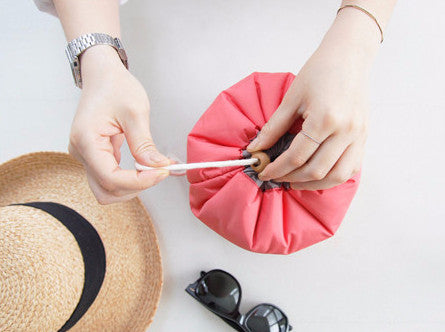 Small Drum Make-Up Bag