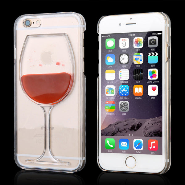iPhone and Samsung Red Wine Case