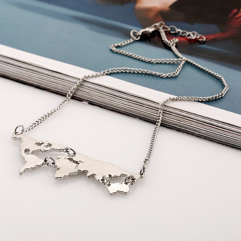 Travel The World Necklace