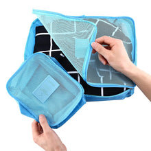 6 Piece Travel Suitcase Organizer