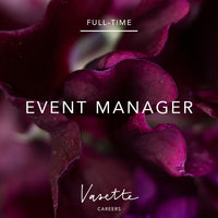 Full-time Event Manager
