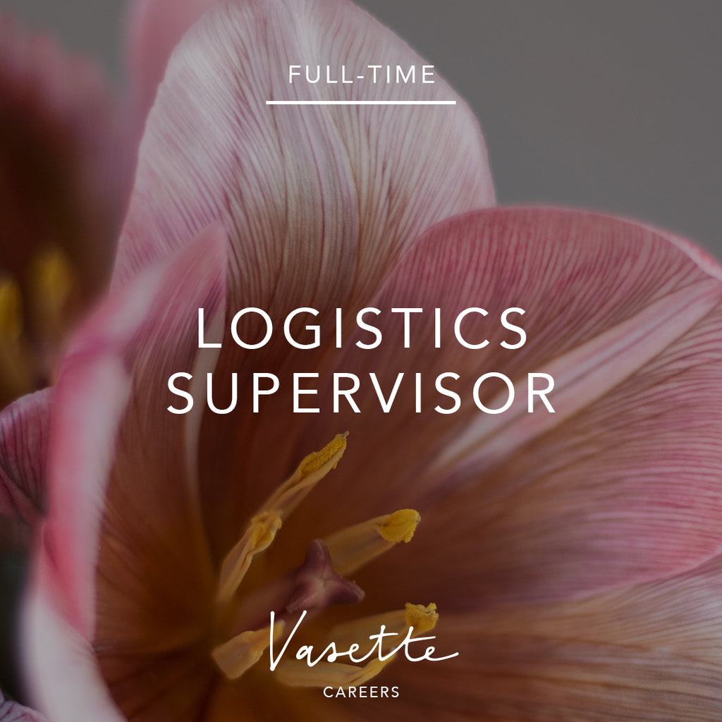 Full-time Logistics Supervisor
