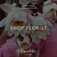 Part-time Shop florist