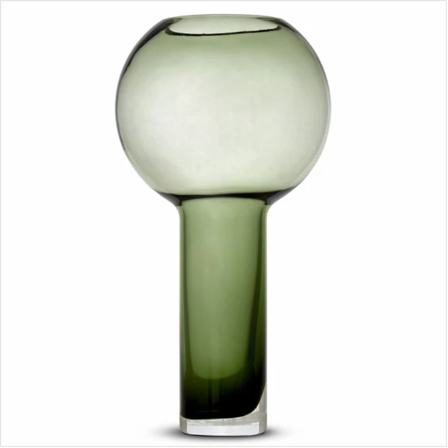 Large Balloon Vase - Green