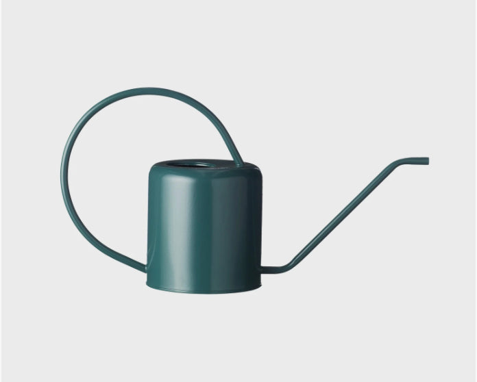 Flora Watering Can - Teal Green