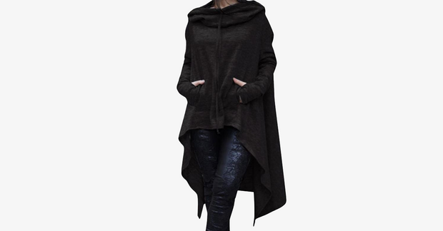 Eve - The Asymmetric Hoodie