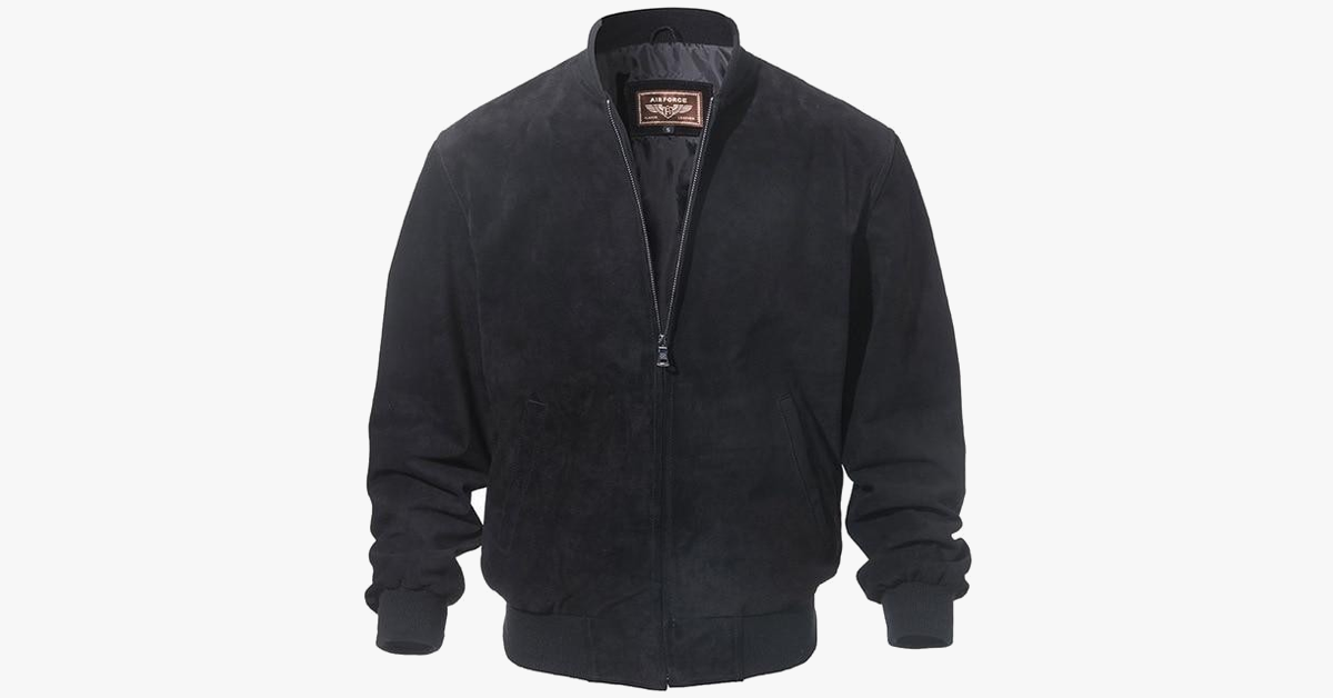 Vegan Hide Men's Autumn Bomber