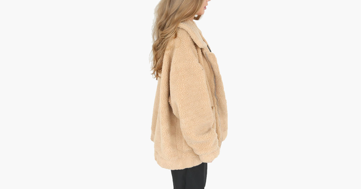 Light Brown Wool Jacket