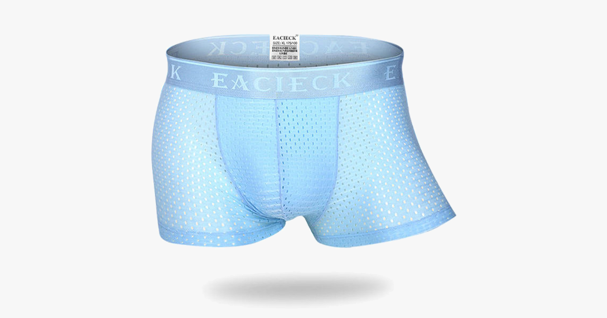 Breathable Mesh U Convex Boxer Briefs