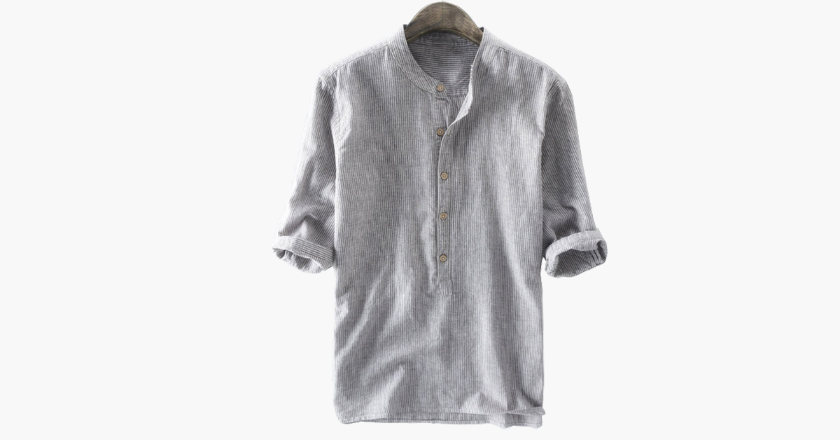 Casual Buttons T Shirt