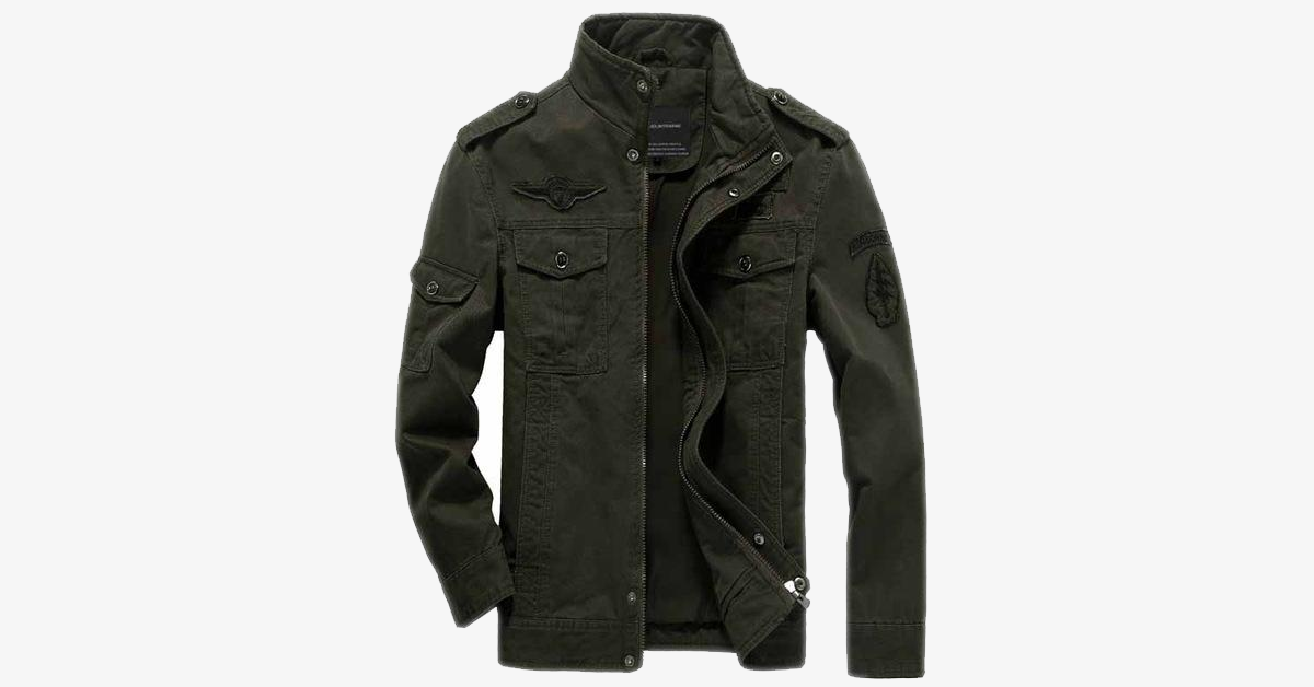 Jet Fighter F-35 Bomber Jacket