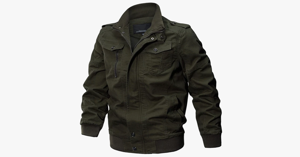 Men's Winter Coat Bomber Jacket