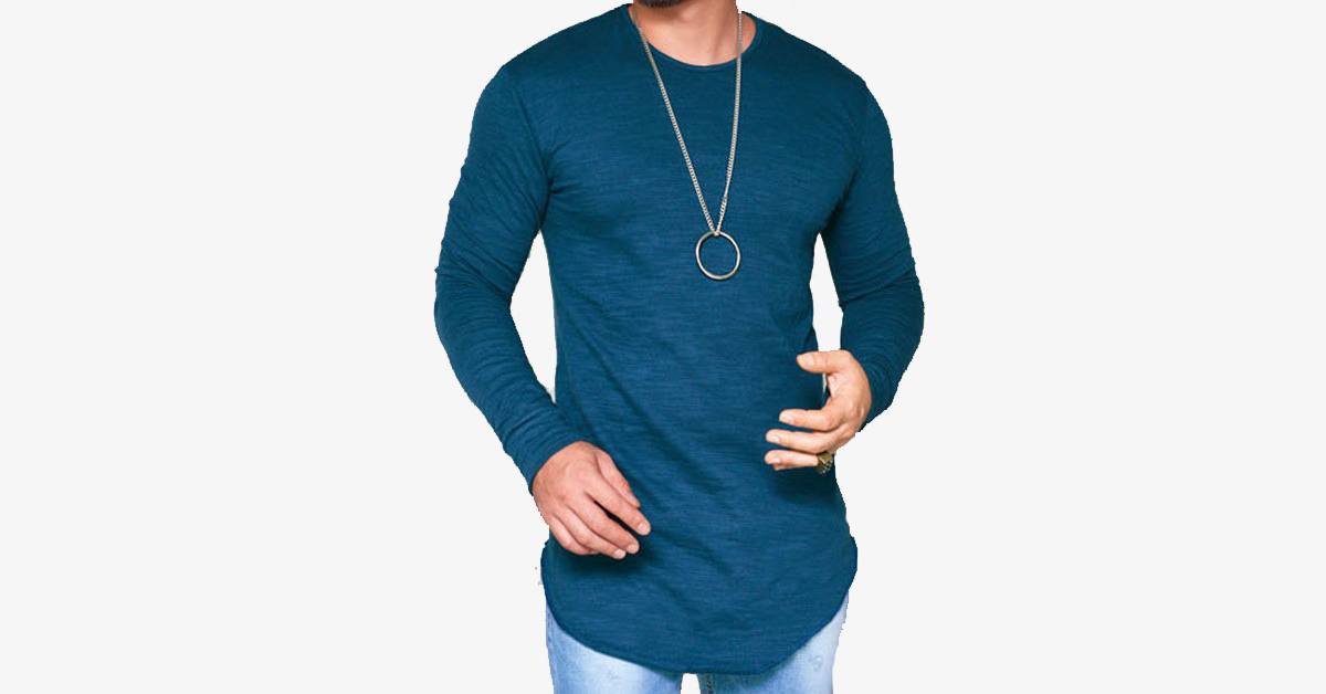 Men's Slim Fit Muscle Shirt