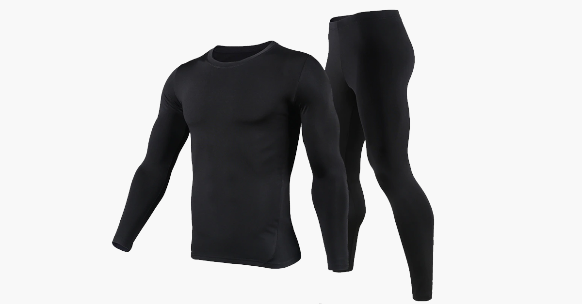 Men's Cotton Thermal Set