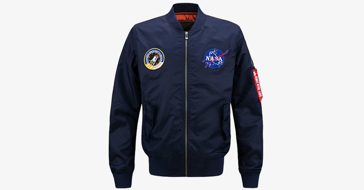 NASA Ma-1 Bomber Jacket – Trendy Shirt Shop b98f9112b40