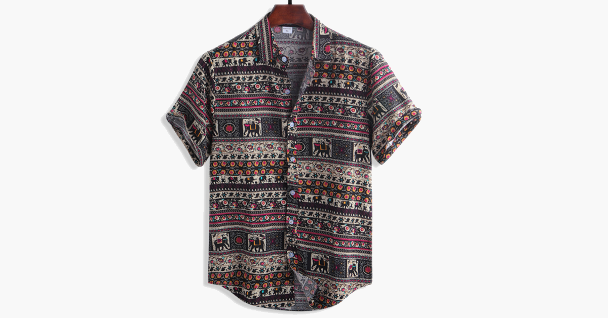Men's Tribal Shirt