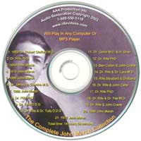 Marsh Audio MP3 CD