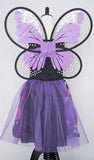 Girls Pink and Purple Butterfly Light Up Costume