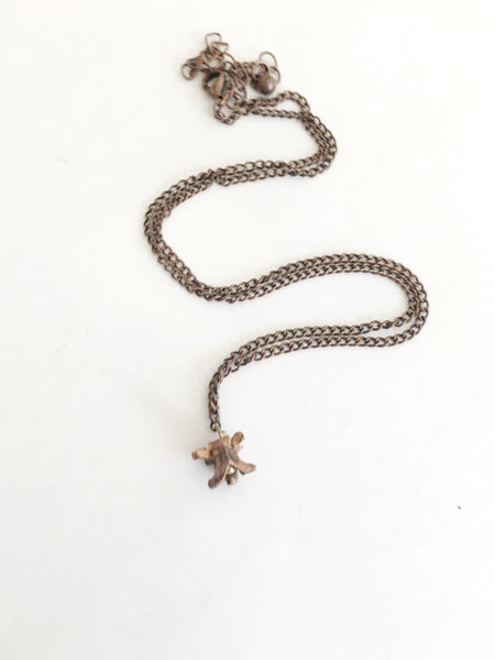 Copper Snake Vertebrae Necklace