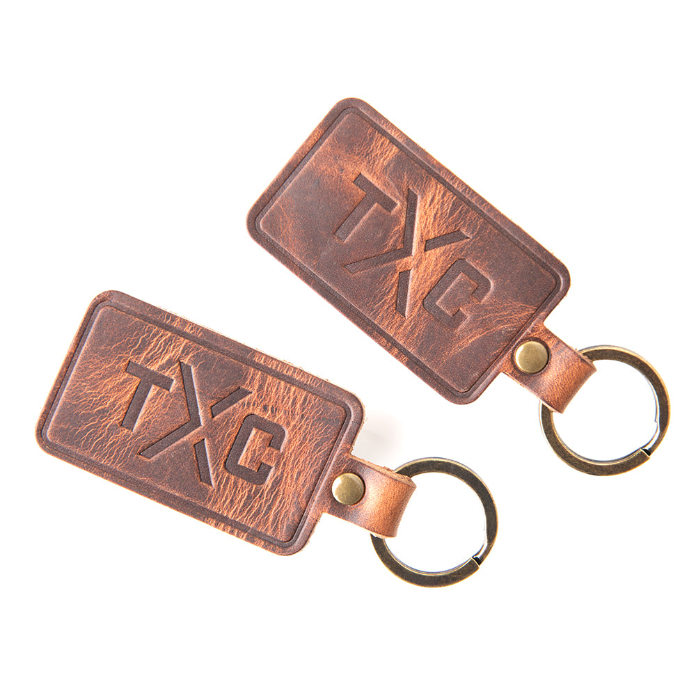 TXC Keychain (Handmade by Sequoia Supply Co.)