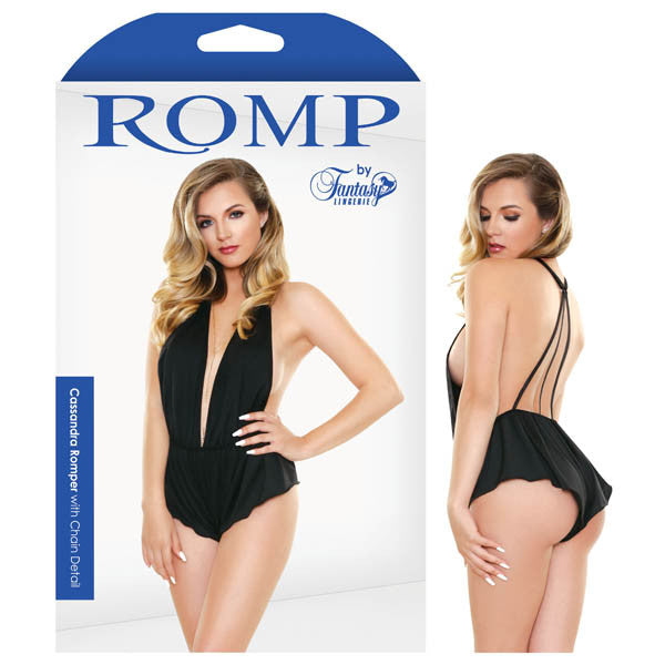 Romp Cassandra Romper With Chain Detail
