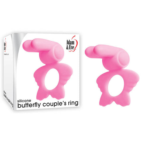 Adam & Eve Silicone Butterfly Couples Ring