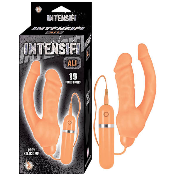 Intensifi Ali Flesh Double Penetration Vibrator