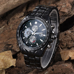 Men Full Steel Wristwatches