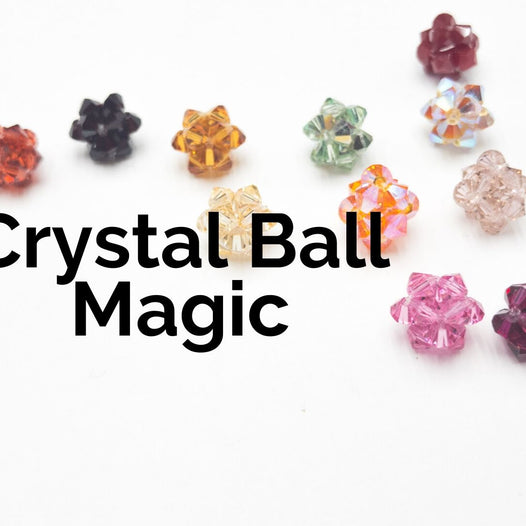 Crystal Ball Magic - A Beadweaving Project For Kids & Adults!