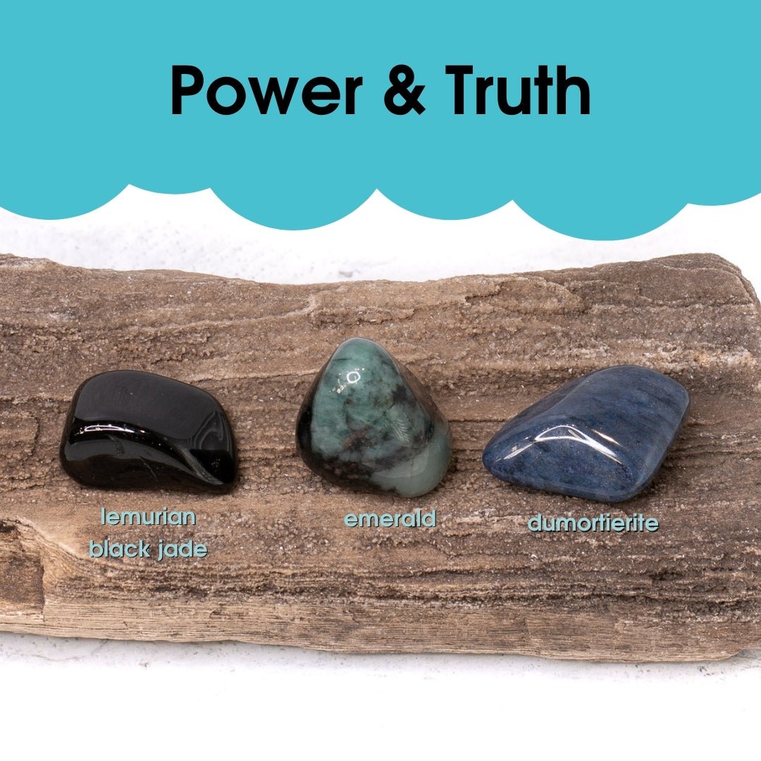Tumbled Gem Set: Power and Truth