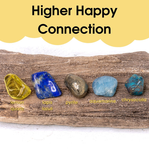 Tumbled Gem Set: Higher Happy Connection