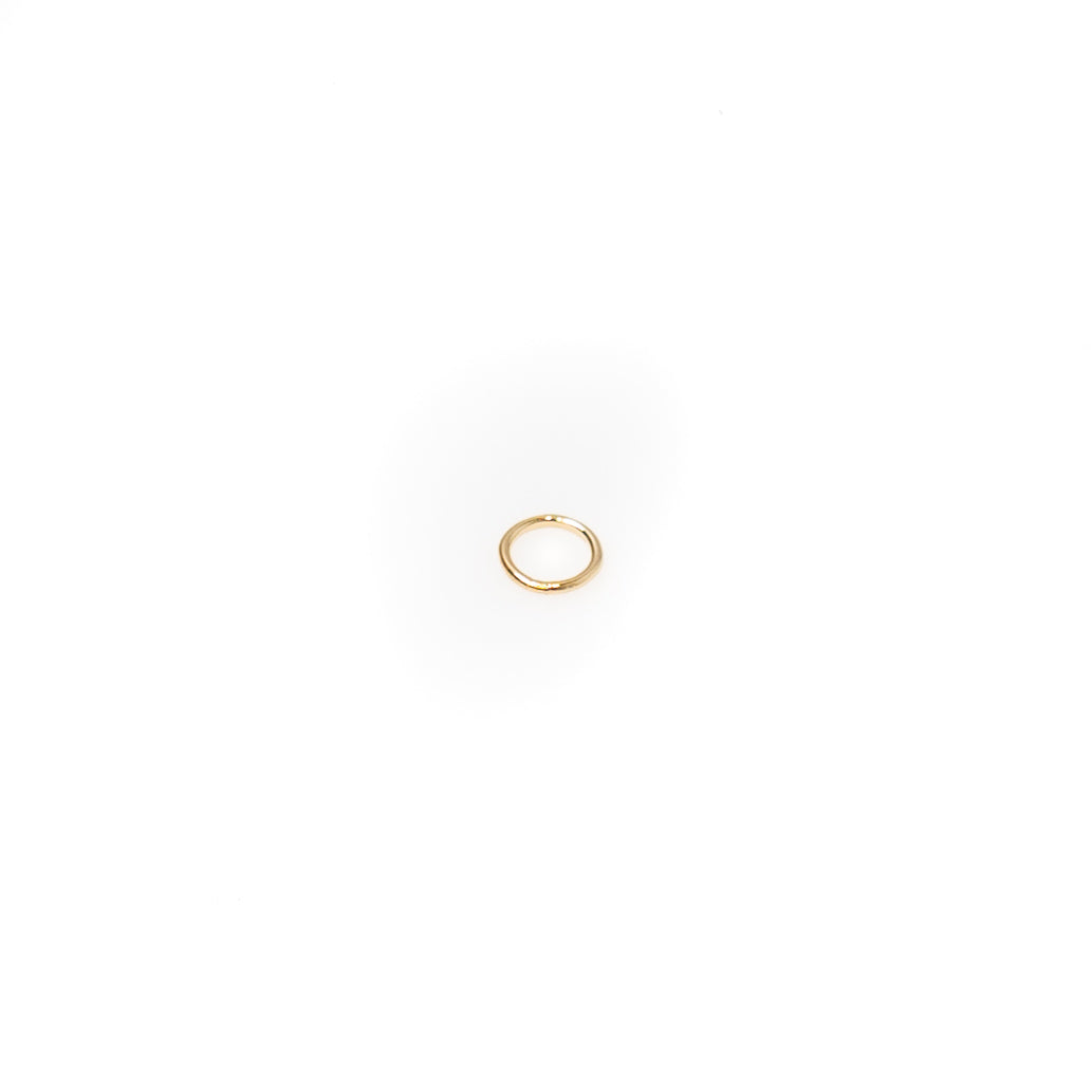 Jump Ring Soldered Closed - 4mm