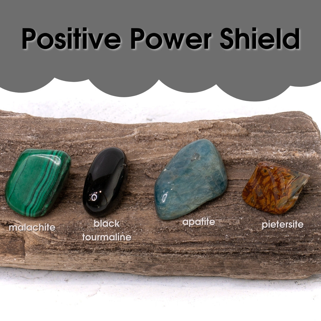 Tumbled Gem Set: Keep the Power Positive Shield