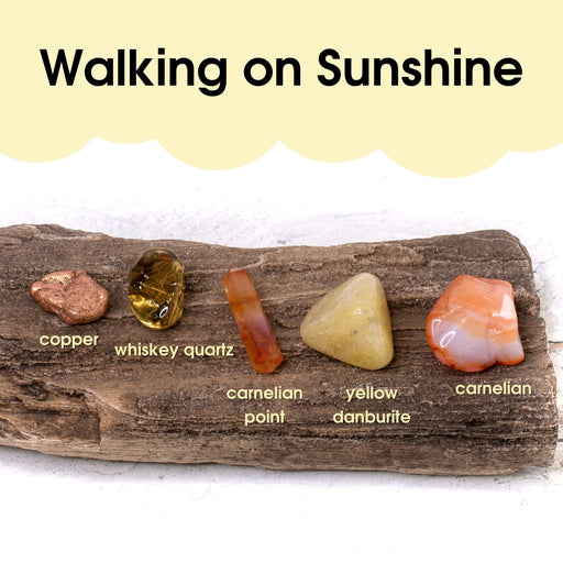 Tumbled Gem Set: Walking on Sunshine