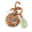 Aloha Copper Charm with Gemstone