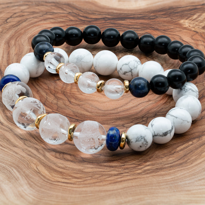Crystal Quartz Lucky Feng Shui Set