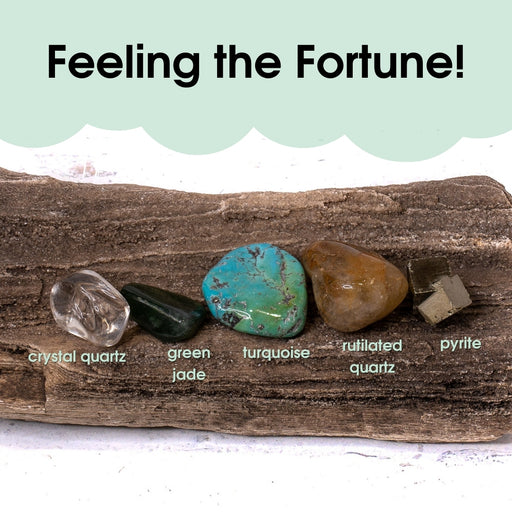 Tumbled Gem Set: Feeling the Fortune